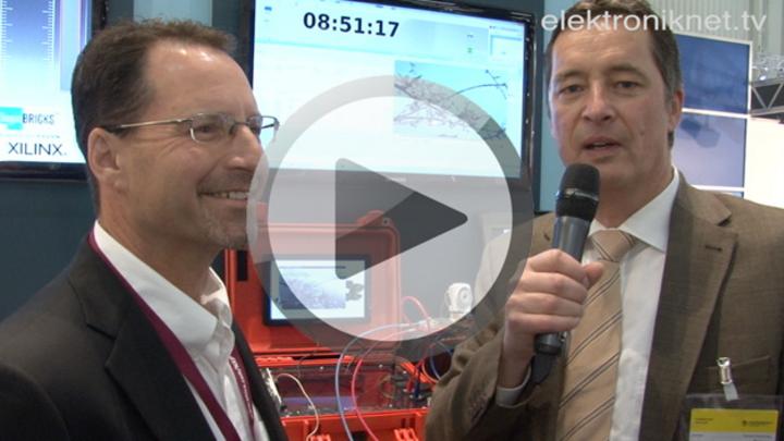 Videovorschaubild zum Interview mit Steve Glaser, Senior VP bei Xilinx, im Gespräch mit Peter Wintermayr