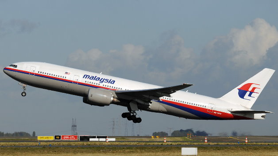 Boeing 777-200 der Malysia Airlines. Ein Flugzeug dieses Typs ist am 8. März u.a. mit 20 Mitarbeitern von Freescale amn Bord verschollen.