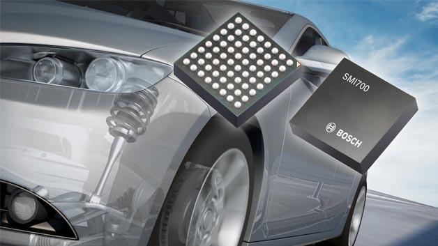 Die Sensorplattform SMI7xy wurde speziell entwickelt für den Einsatz in Systemen für aktive und passive Sicherheit sowie in Fahrerassistenzsystemen entwickelt.
