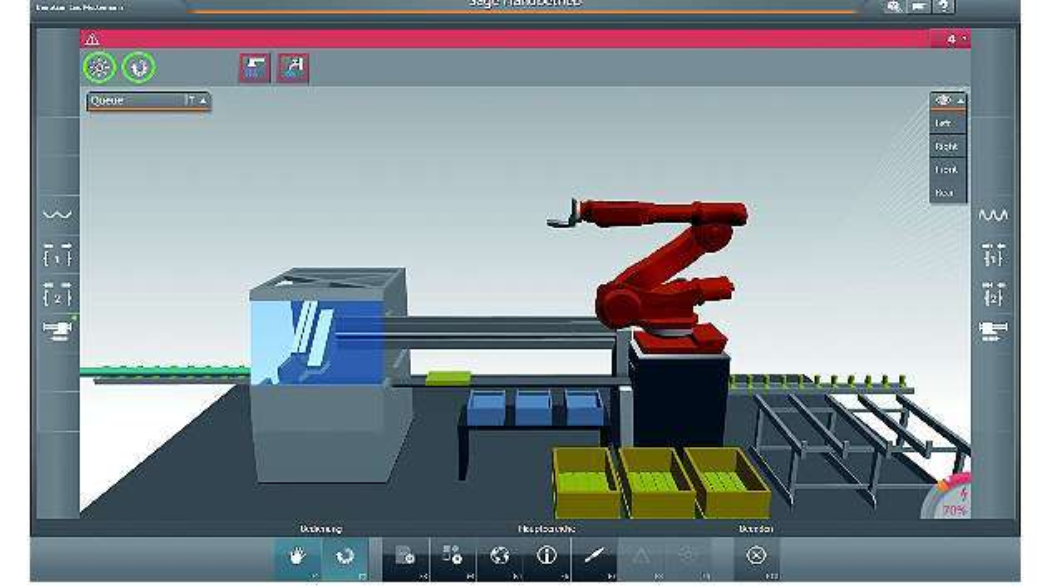 Bild 1: AMDs hardwarebasierte Grafikbeschleunigung macht die interaktiven Grafiken und Animationen der »VisiWin 3D«-Demo von Inosoft flüssiger