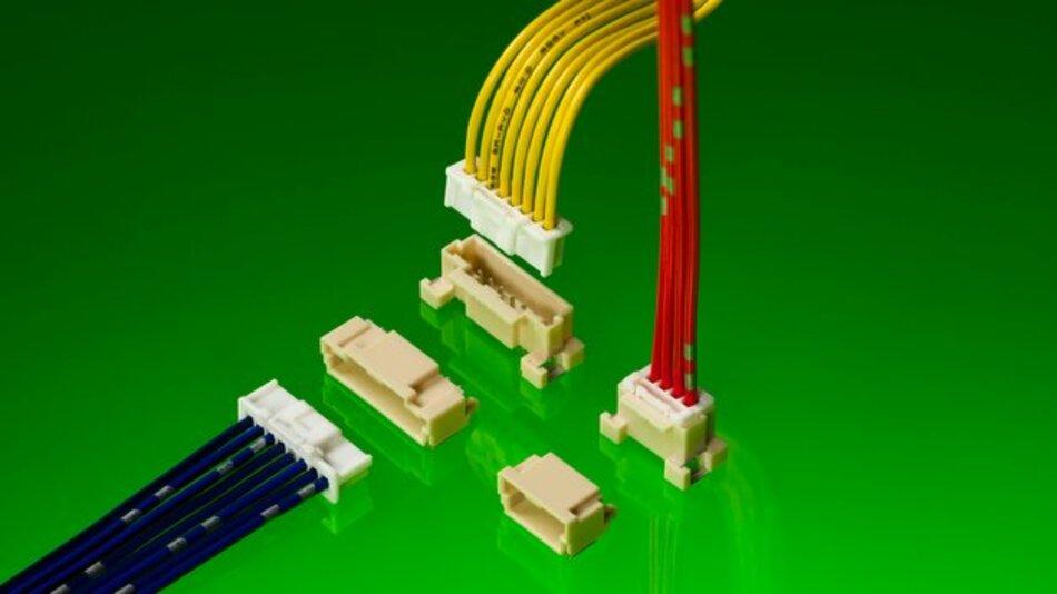Die neuen vertikalen Steckverbinder von Molex sind speziell für eine Verbesserung der Kabelbaummontage in platzkritischen Anwendungen in Automobilen konzipiert.