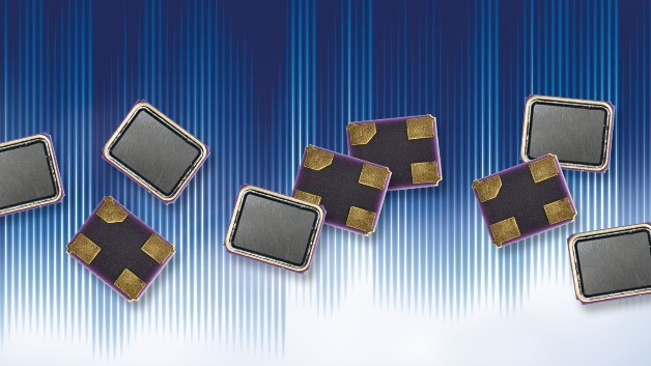 Die winzigen SMD-Schwingquarze von WDI bieten bei 25 °C Frequenztoleranzen von bis zu +/-10 ppm.