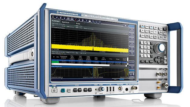 Moderne Signal- und Spektrumanalysatoren für drahtlose Komunikationssysteme