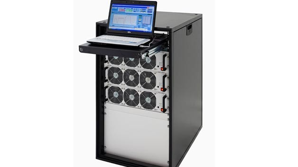 Mobiles System für Prüfstände von Zentro-Elektrik.