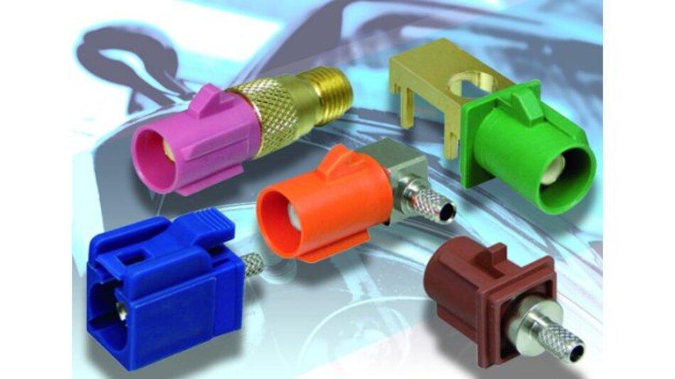Bei H&H Components ist eine neue Serie von FAKRA (Fachkreis Automobil) Automotive-Steckverbindern verfügbar