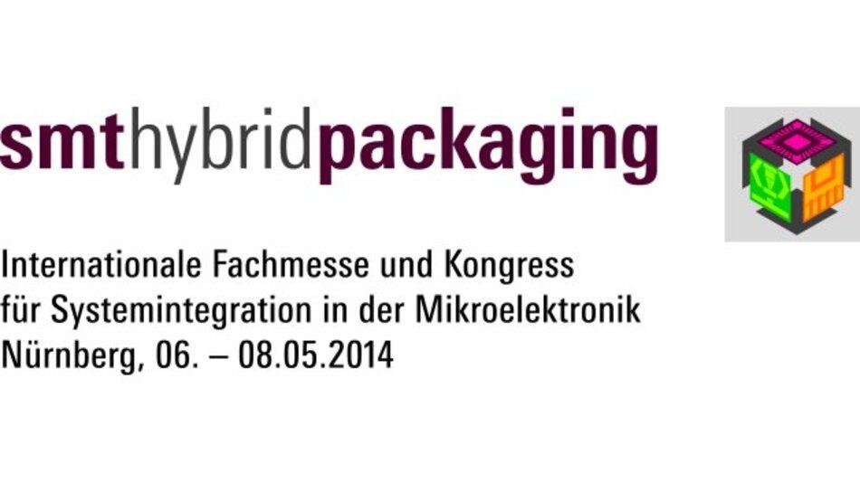 SMT Hybrid Packaging 2014 Internationale Fachmesse und Kongress für Systemintegration in der Mikroelektronik Messezentrum Nürnberg, 06 – 08.05.2014