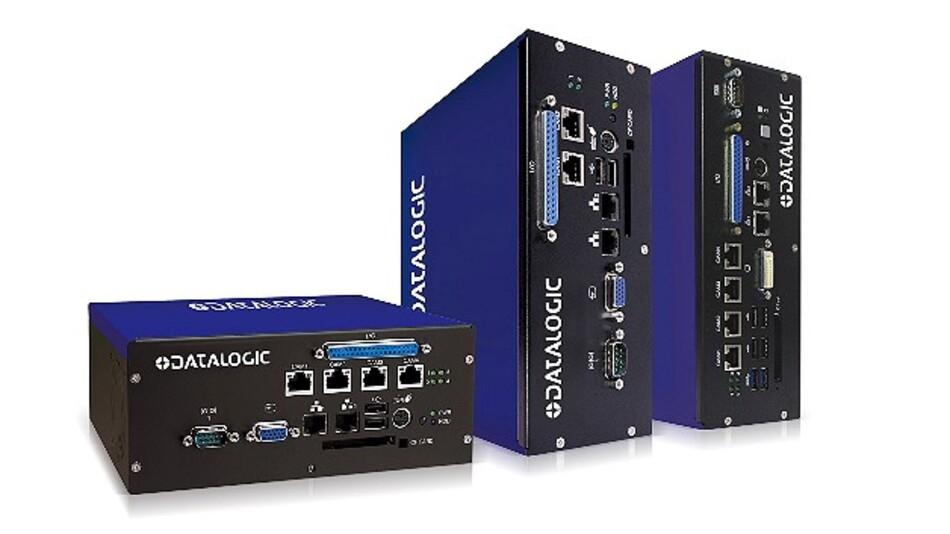 Vibrations- und stoßfest sind die Bildverarbeitungs-PCs von Datalogic.