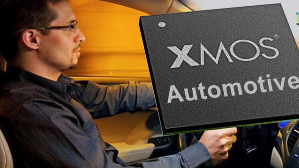 XMOS bietet speziell für den Automotive-Bereich konzipierte Mikrocontroller.