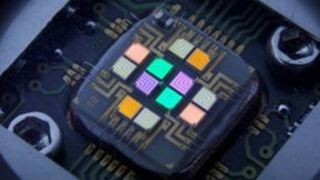 Beispiel einer Multi-Color-LED