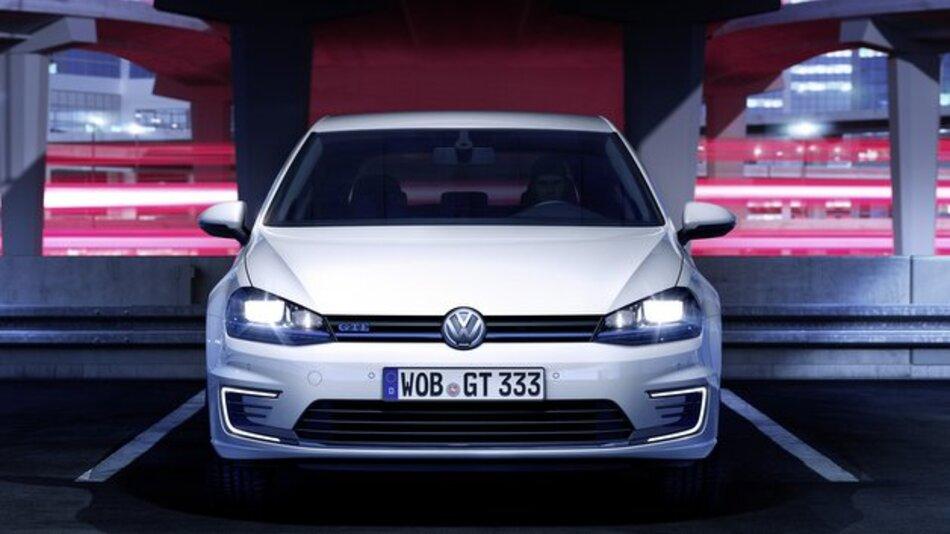 Golf GTE: Der erste Plug-in-Hybrid mit VW-Emblem.