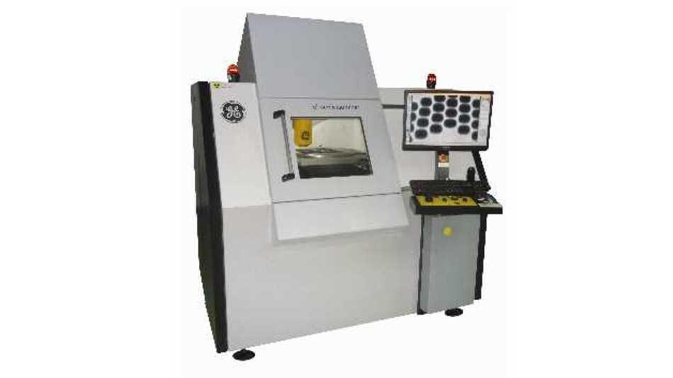 Der phoenix x|aminer von GE ist jetzt auch mit einem digitalen Flächendetektor für noch effizientere Röntgeninspektion erhältlich.