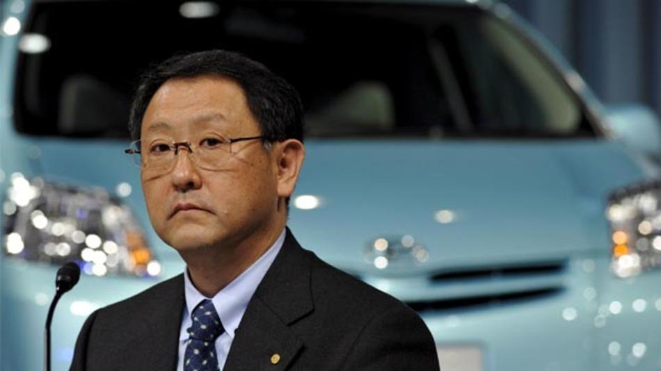 Übernimmt den Vorsitz des Toyota Mobiltiy Fund: CEO Akio Toyoda.