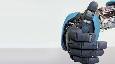 Hand eines Serviceroboters