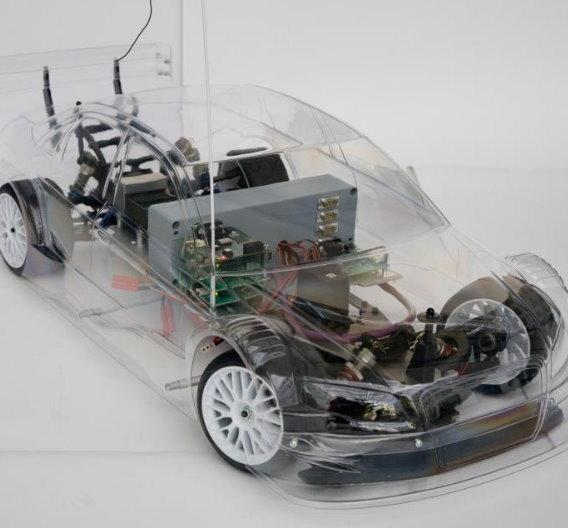 Der »Master Software Engineering for Embedded Systems« wird anhand eines »Concept Cars« vorgestellt.