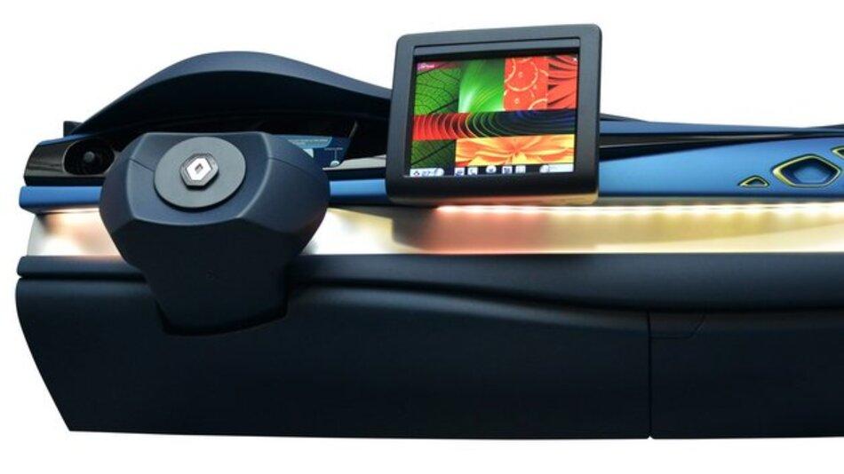 In Visteons neuem Cockpit-Konzept werden viele vernetzte Fahrzeugfunktionen über ein multimodales HMI mit berührungssensitiver, sprachgesteuerter Display-Technik verwaltet.