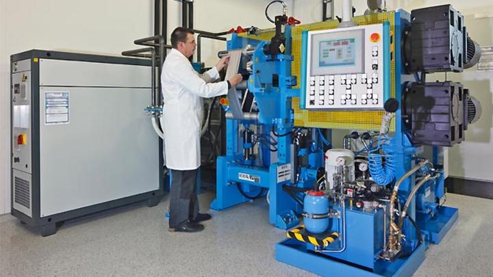 Batterie Forschungseinrichtung des ZSW in Ulm