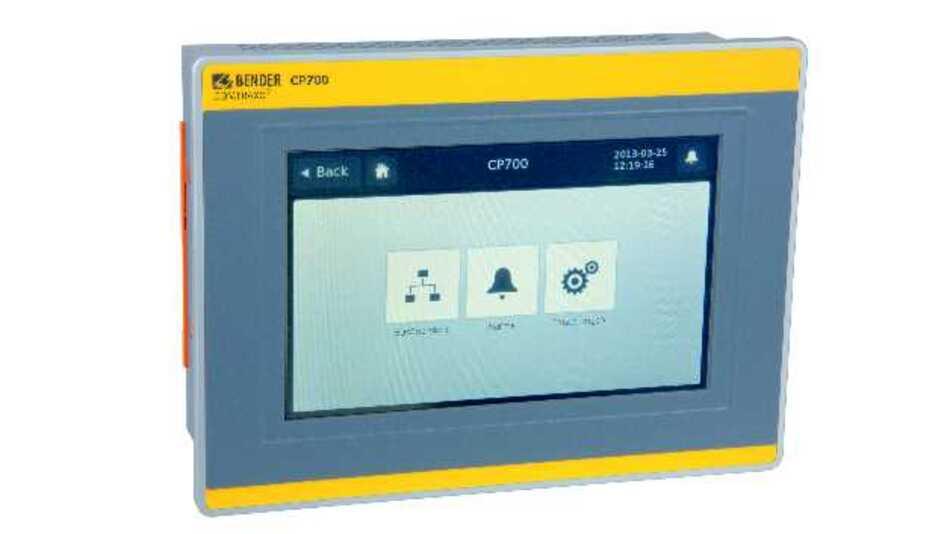 Für eine optimale Übersicht und Transparenz in elektrischen Anlagen sorgt der Condition-Monitor COMTRAXX CP700 von Bender