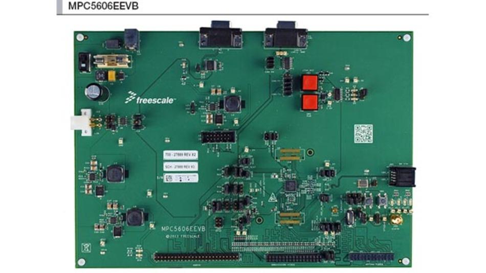 Integrierte Lösung aus Mikrocontroller und PHY: Der Qorivva MPC5606E von Freescale und Broadcom.