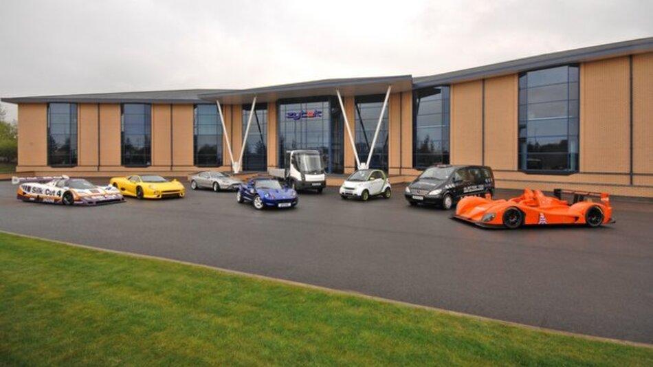 Der Stammsitz der britischen Ingenieurgesellschaft Zytek Automotive befindet sich in Fradley, Großbritannien.