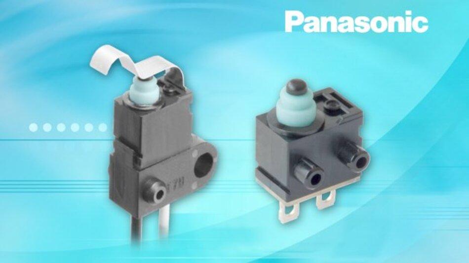 Subminiaturschalter namens Panasonic ASQM