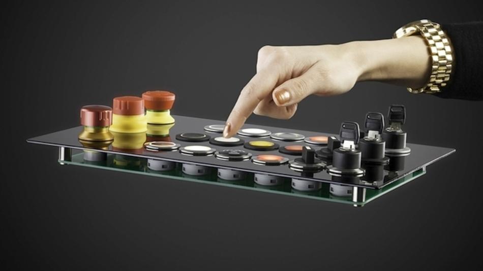 Komplette Befehlsgeräte-Baureihe für  22,3 mm Einbaudurchmesser