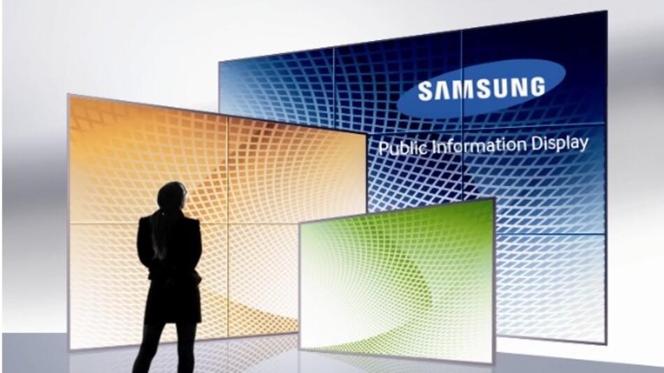 Eine Lichtstärke von 5000 cd/m2 und einen Kontrast von 4000:1 weist Samsungs 46-Zoll-Display LTI460HZ01 auf.