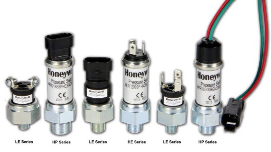 Portfolio an Druckschaltern um drei neue Serien erweitert: die HP-Serie, die HE-Serie und die LE-Serie.