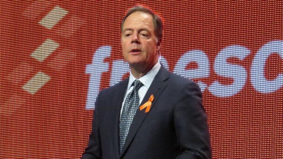Die Keynote hielt Freescales CEO Gregg Lowe.
