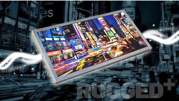 Vibrationsfest ist KOEs 12,3-Zoll-TFT-Display TX31D200VM0BAA im 8:3-Breitformat mit einer Auflösung von 1280 x 480 Pixel.