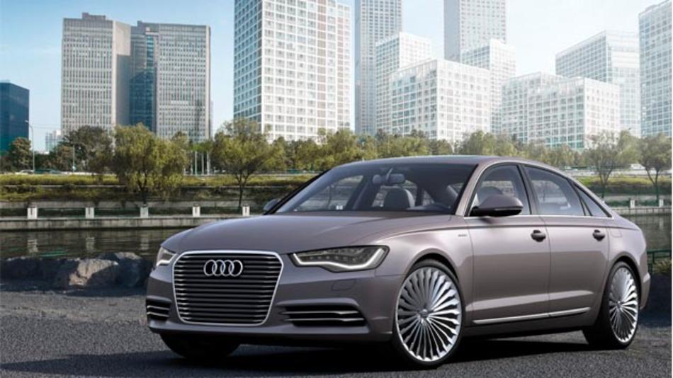 Die Technikstudie Audi A6 L e-tron concept, die auf der Auto China 2012 in Peking präsentiert wurde, wird jetzt für den chinesischen Markt produziert.