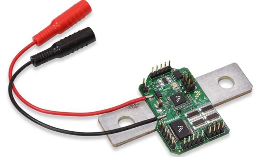Der Batteriesensor MM9Z1J638 von Freescale.