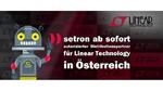 setron und Linear Technology vereinbaren Partnerschaft