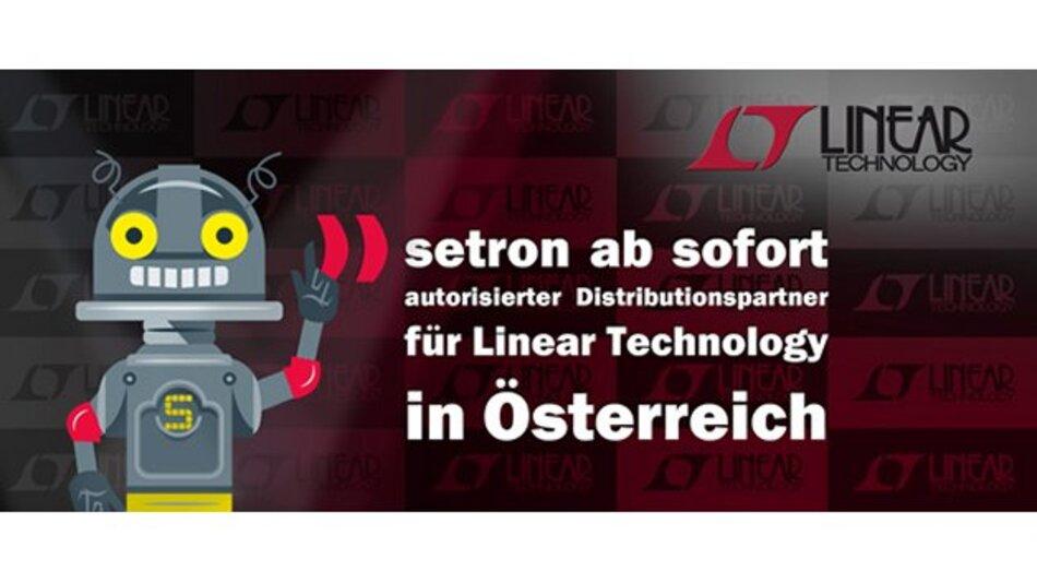 setron ist autorisierter Distributionspartner für Linear Technology in Österreich