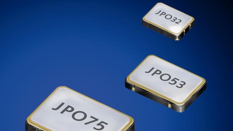 Eine hohe Frequenzstabilität von bis zu +/-25 ppm weisen Jauchs programmierbare Quarzoszillatoren der JPO-Familie auf.