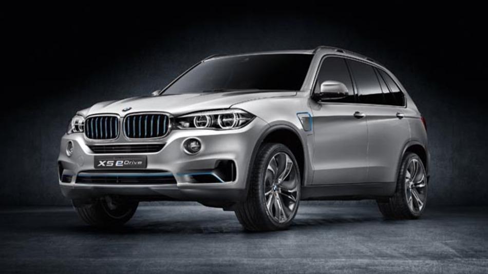 Das BMW Concept X5 eDrive kombiniert  den Allradantrieb xDrive mit einem Plug-in-Hybrid-Antriebskonzept.