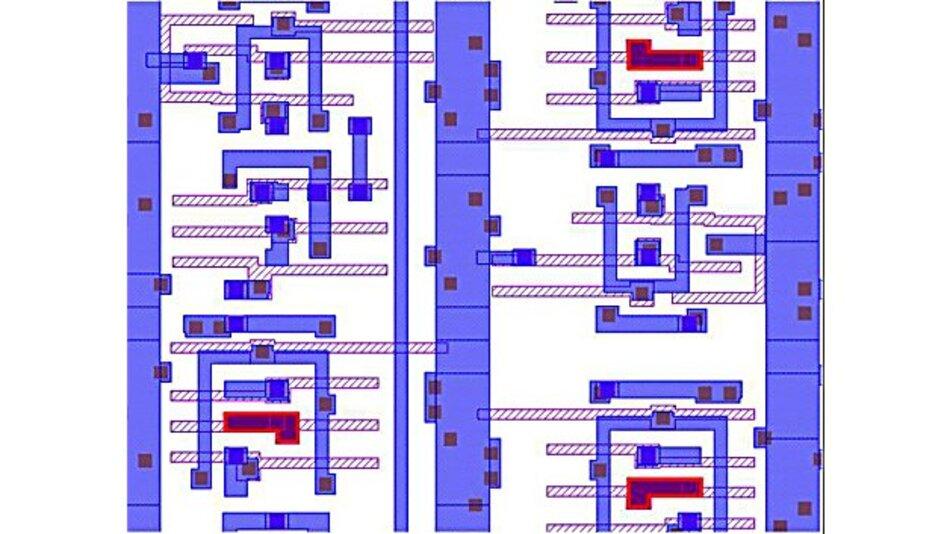 Bild 2. Fehler bei Entwurfsregeln, die vernachlässigbar sind, können erfasst und in einer Musterbibliothek abgelegt werden