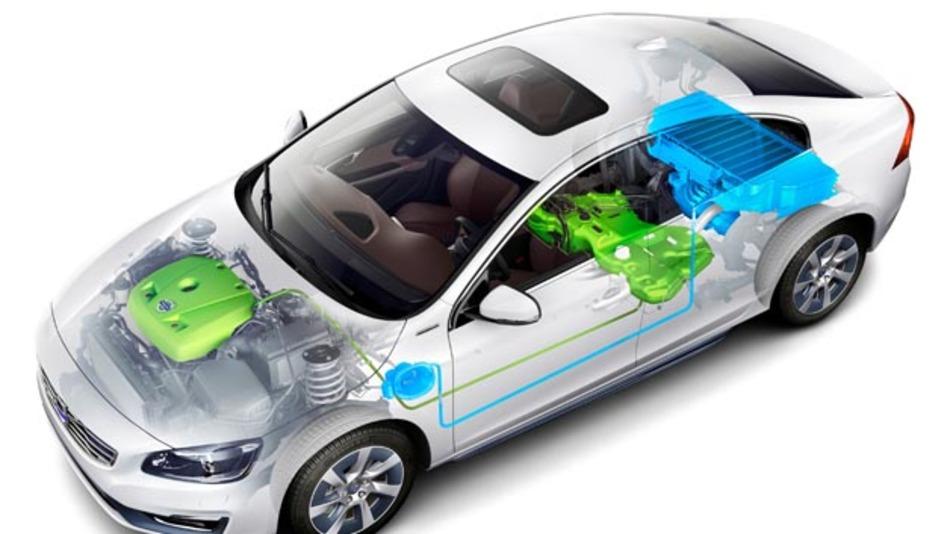 Die Volvo-Studie S60L PPHEV.