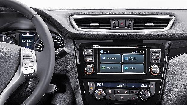 Mit der hoch integrierten und komfortabel bedienbaren Multimedia-Einheit von Bosch bringt Nissan ein vernetztes System intuitiv erlebbar ins Fahrzeug und schafft vielfältige Infotainment- und Assistenzfunktionen mit zeitgemäßem Mehrwert.