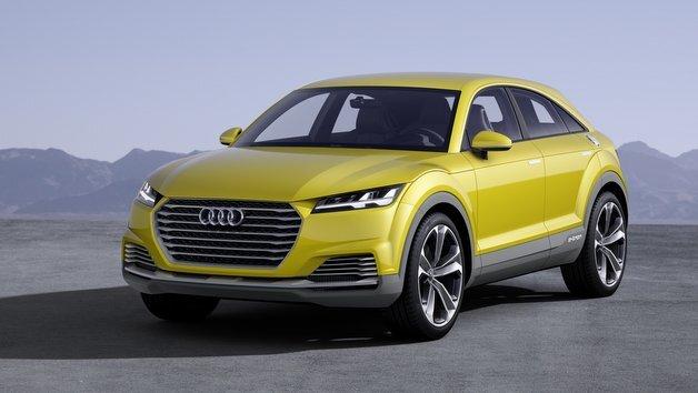 Bislang nur eine Studie: der Audi TT offroad concept.