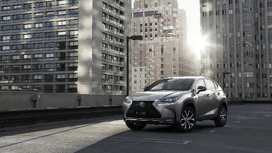 Mit dem NX wagt Lexus den Einstieg in die Kompakt-SUV-Klasse.