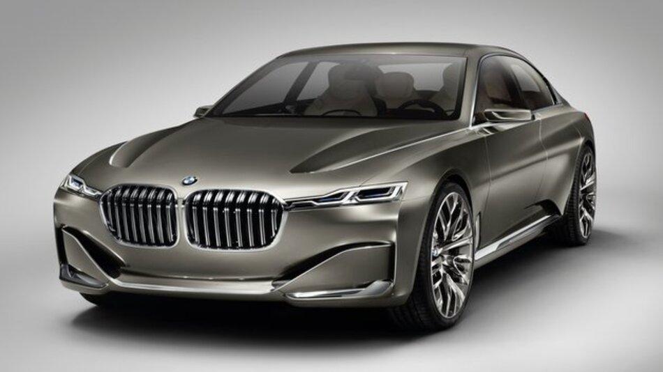Technologieträger mit Laserlicht und OLEDs: der BMW Vision Future Luxury.