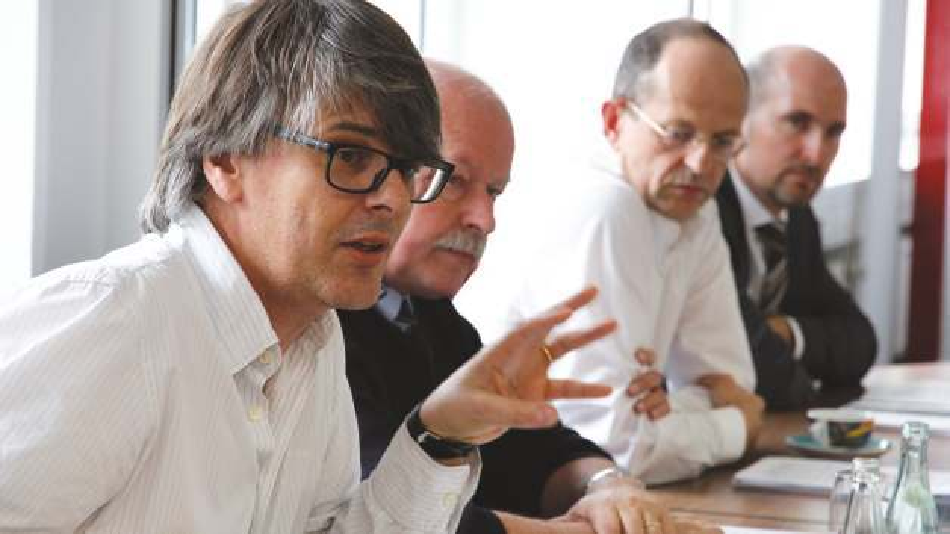 Top-Manager aus der Embedded-Computing-Branche trafen sich auf Einladung der Markt&Technik in München zu einer Forumsdiskussion.