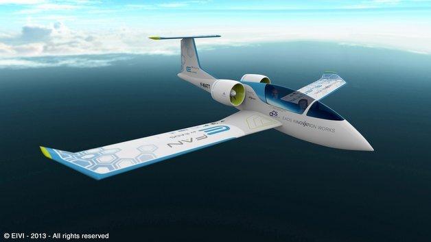 Technologie-Demonstrator des zweisitzigen Airbus-Elektroflugzeugs
