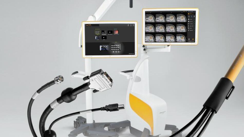 Mikroskop-Kabel für das mobile Curve-System von Brainlab