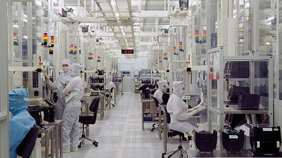 Wettbewerbsfähigkeit der europäischen Mikroelektronikindustrie