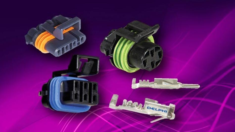 RS Components hat sein Kfz-Steckverbinder-Portfolio um zwei Steckverbindersysteme aus dem Hause Delphi Automotive ergänzt.