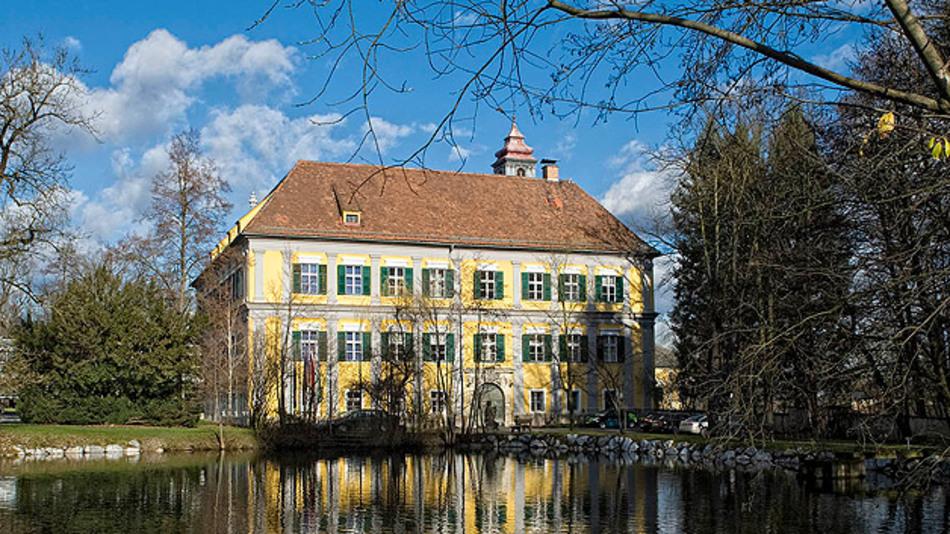 Der amerikanische Traum in Österreich: Als die Joint-Venture-Partner von American Micro System nach Graz zur Standortsuche kamen, war ihr einziger Wunsch ein Schloss als Firmensitz.