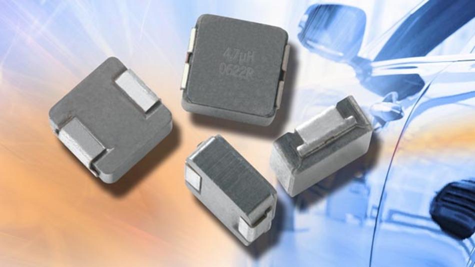 Hochstrominduktivititäten von Vishay beispielsweise für den Einsatz in Motor- und Getriebesteuerungen.