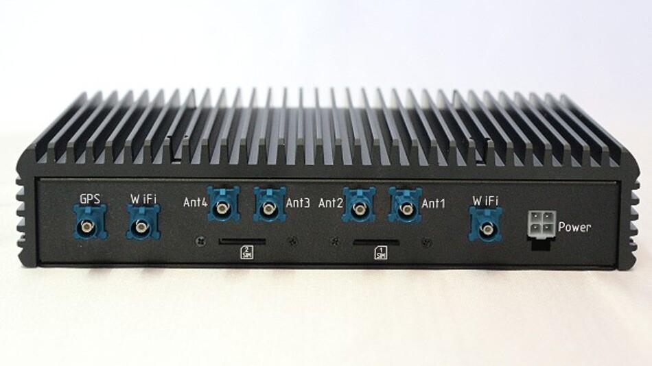 Mit dem Router »MP-Net 32C« von Embedded Source lassen sich UMTS- und LTE-Verbindungen bündeln.