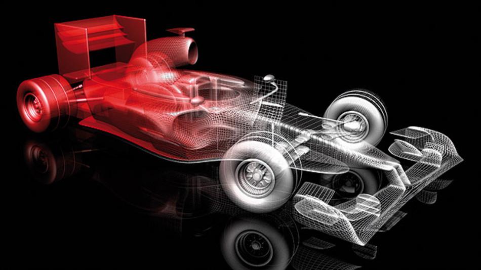 SiC verbessert den Wirkungsgrad in Elektro- und Hybridfahrzeugen.